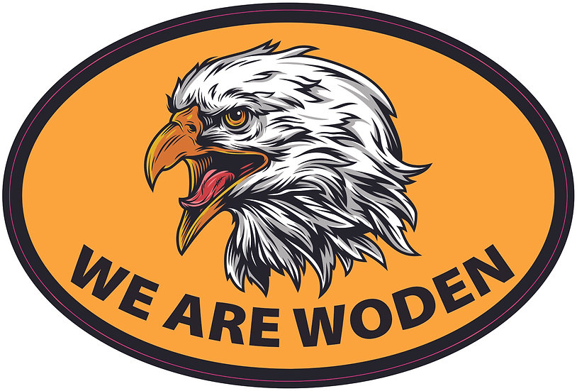 We are Woden Decal