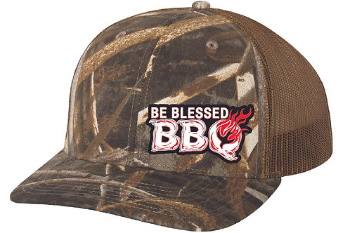 BE BLESSED CAP - Realtree Max-5-Buck