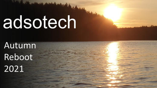 Adsotech Autumn Reboot - book your seat now!