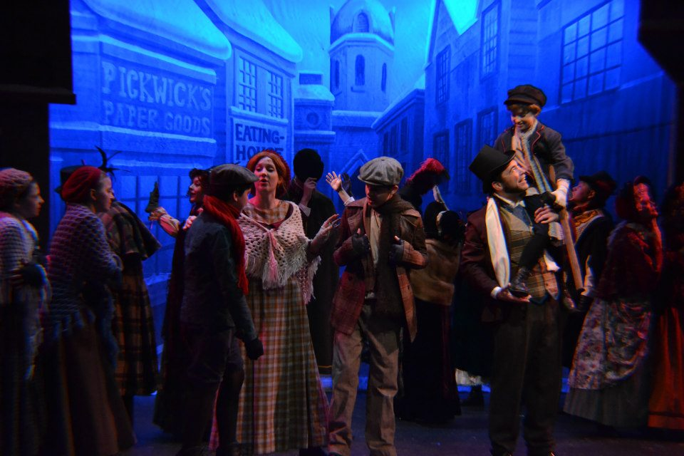 "as Cratchit in ""Christmas Carol"""