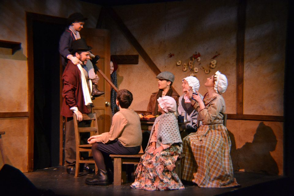 "as Cratchin in ""A Christmas Carol"""