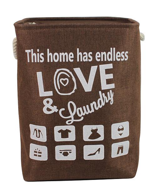 Love Brown Laundry Bag