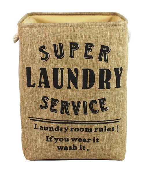 Super Service Natural Laundry Bag