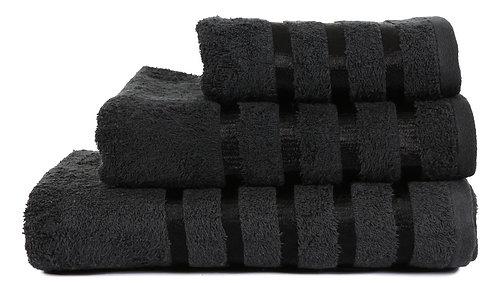 Savoy Towels Black