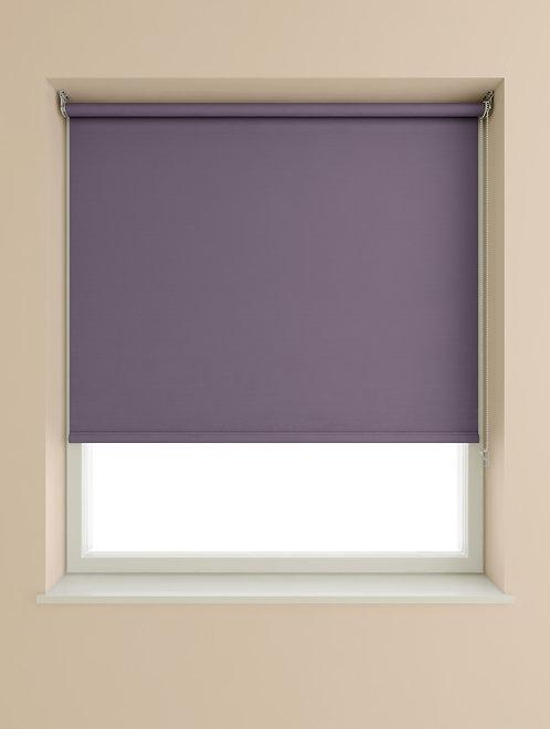 Purple Blackout Roller Blind