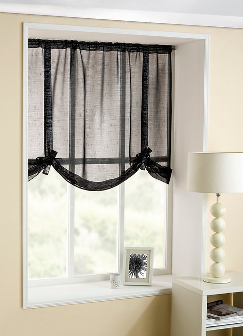 Casablanca Tieblinds Black
