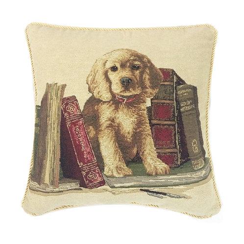 Study Dog Tapestry