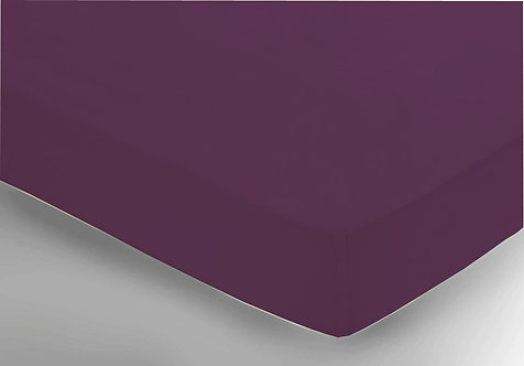 Aubergine Fitted Sheet