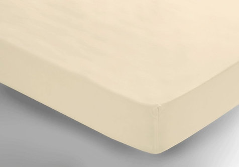 Cream Fitted Sheet