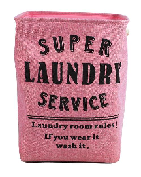 Super Service Pink Laundry Bag