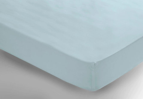 Ice Blue Fitted Sheet