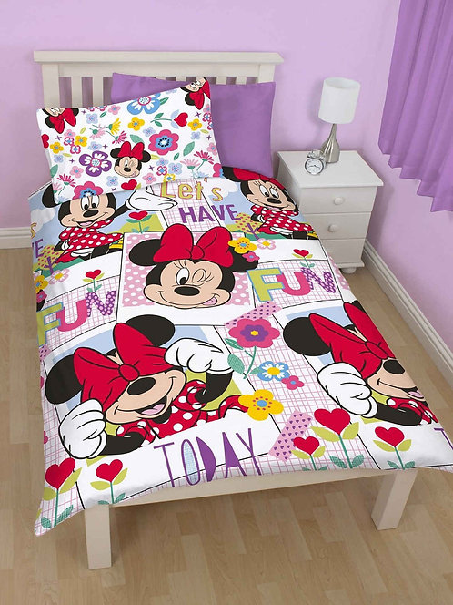 Minnie Mouse 'Lets have fun'