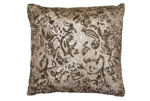 Alexa Gold Pillow