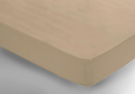 Latte Fitted Sheet