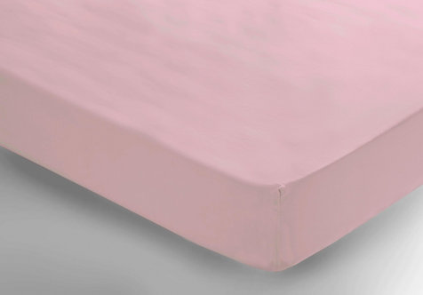 Light Pink Fitted Sheet