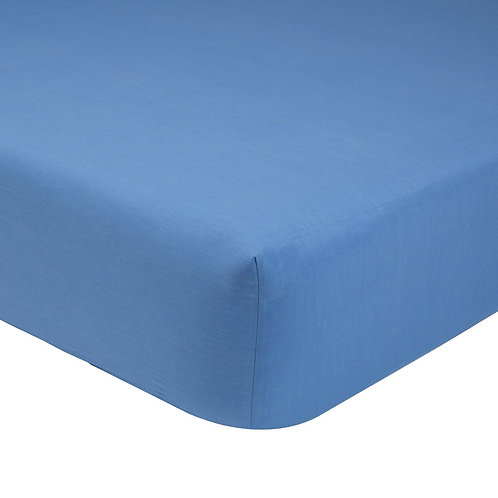 French Blue Fitted Sheet