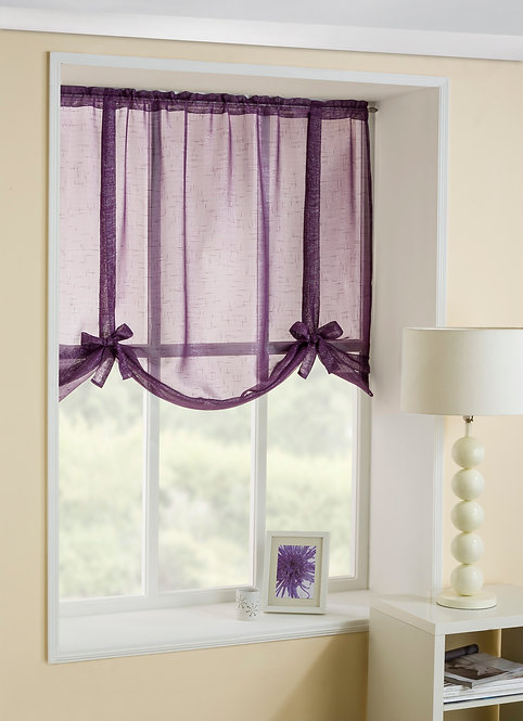 Casablanca Tieblinds Purple