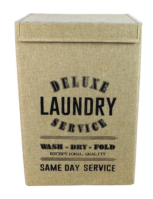 Same Day Service Natural Large Laundry Basket