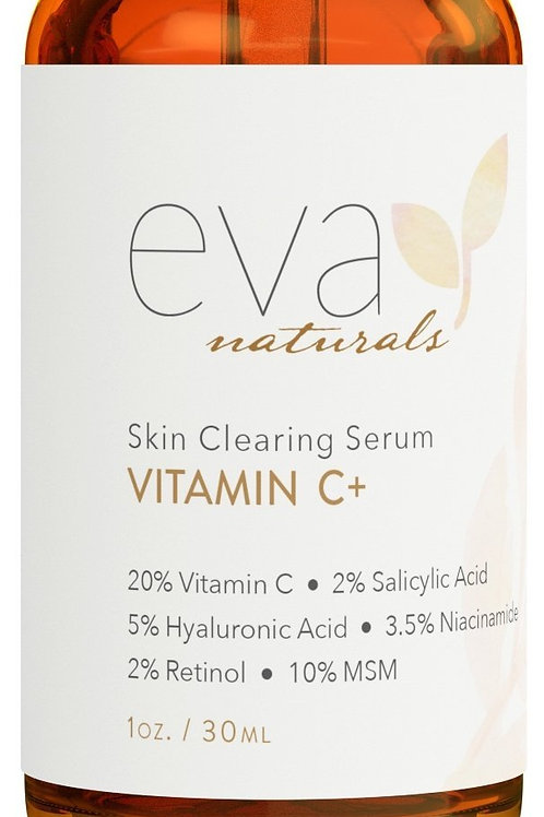 Eva Naturals Skin Clearing Serum Vitamin C Plus
