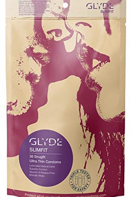 GLYDE Slimfit Premium Small Condoms