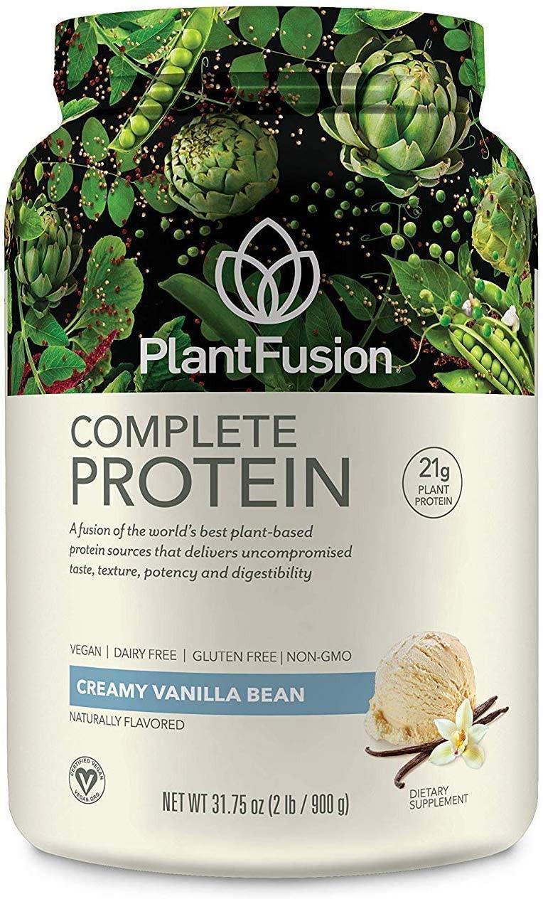 plantfusion plant based animal free vegan protein powder vanilla sports nutrition diet