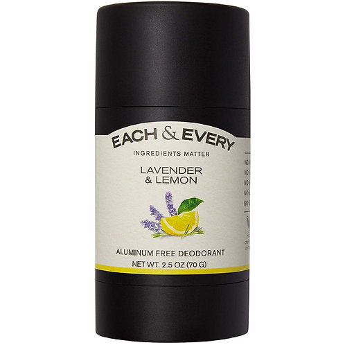 Each & Every All Natural Aluminum Free Deodorant