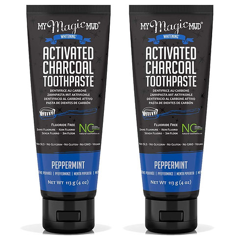 My Magic Mud Charcoal Teeth Whitening Toothpaste