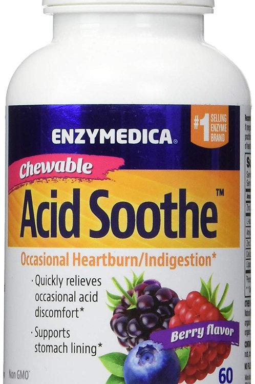 Enzymedica Chewable Acid Soothe