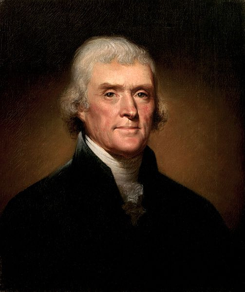 Thomas Jefferson strongly supported a plant-based diet and lifestyle.