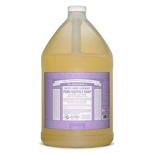 Dr. Bronner's Lavender Soap, Gallon