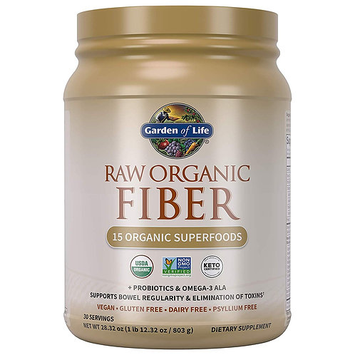 Garden of Life Raw Organic Superfood Fiber