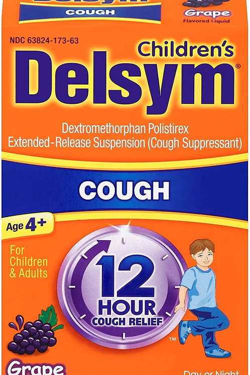 Delsym® 12 hour Extended-Release Suspension liquids
