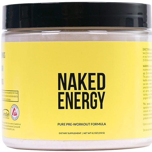 Naked Energy All Natural Pre-Workout Powder