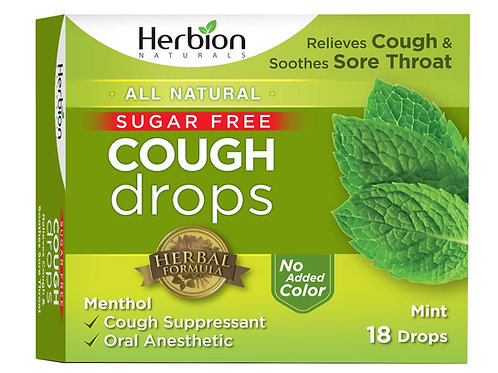 Herbion Naturals Sugar-Free Cough Drops