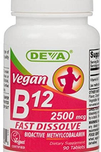 Deva Vegan Vitamins Sublingual B12