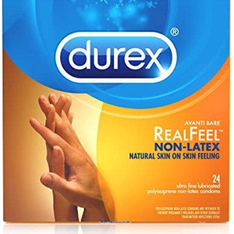 Durex Real Feel Non-Latex Condoms