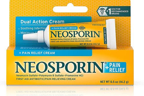 Neosporin Pain Relief Dual Action Cream .5 Oz