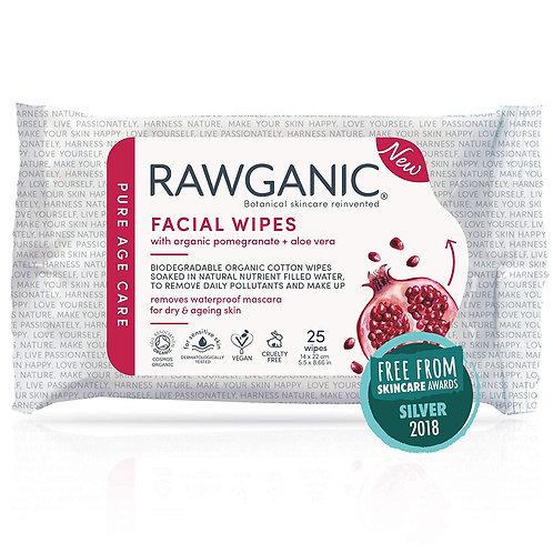 Rawganic Anti-aging Hydrating Facial Wipes