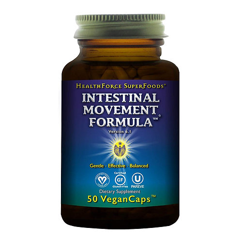 HealthForce SuperFoods Intestinal Movement Formula