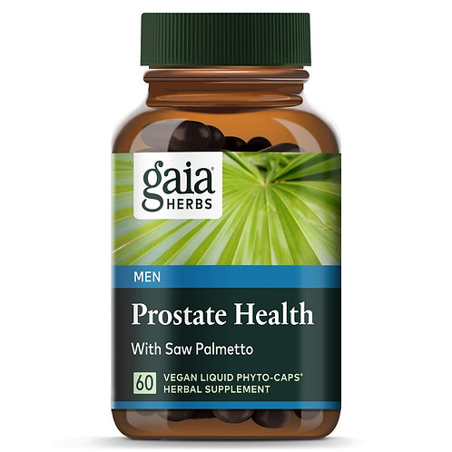 Gaia Herbs Prostate Health with Saw Palmetto