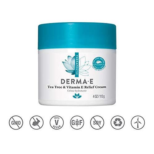 Derma E Tea Tree and Vitamin E Relief Cream