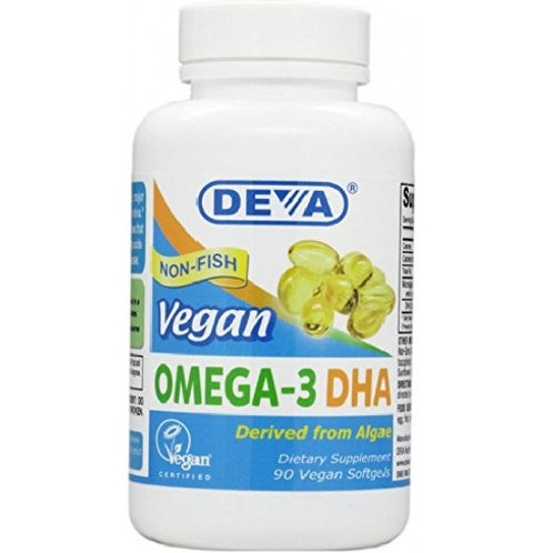 DEVA Vegan Vitamins Vegan DHA
