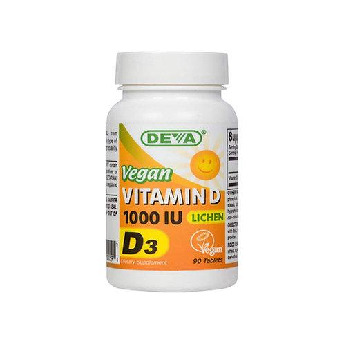 Deva Vegan Vitamins D3