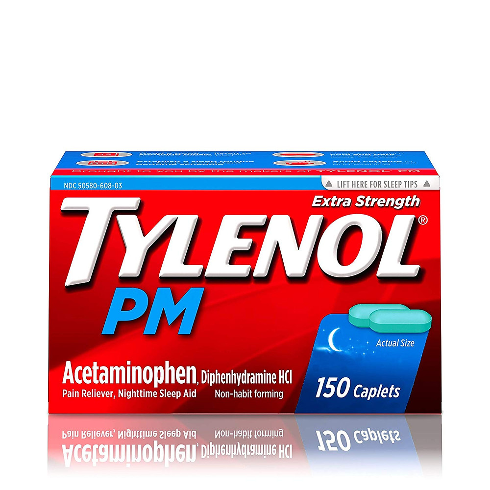 Tylenol PM Extra Strength Caplets is one of the ONLY animal-free acetaminophen paracetamol products.