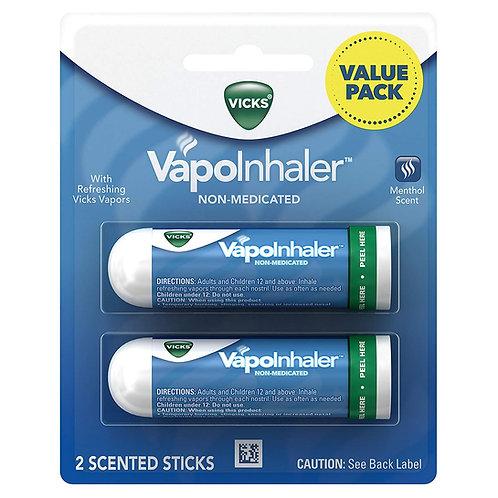 Vicks Vapoinhaler Portable Nasal Inhaler, 2 Count