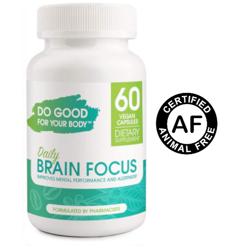 Do Good For Your Body Daily Brain Focus
