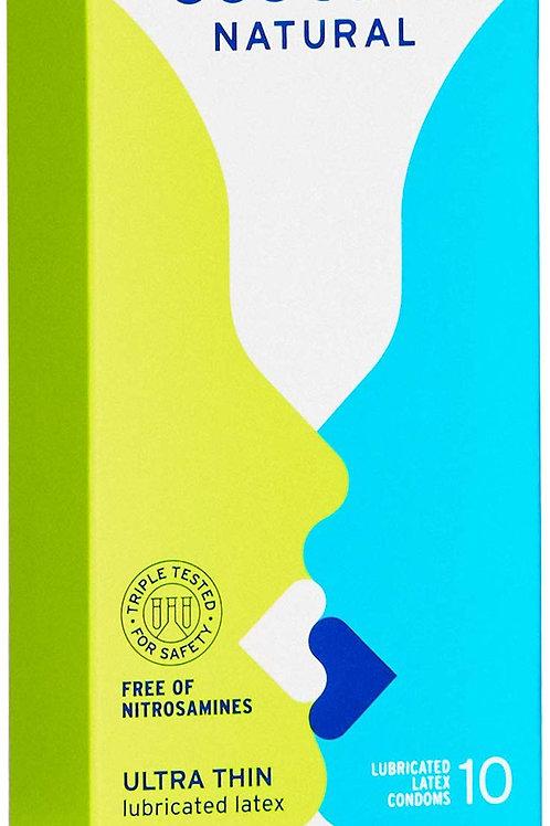 Sustain Natural Latex Condoms - 10 Count