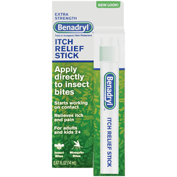 Benadryl Itch Relief Stick using an antihistamine