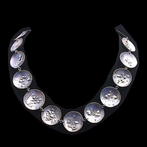 Galaxy Silver Necklace