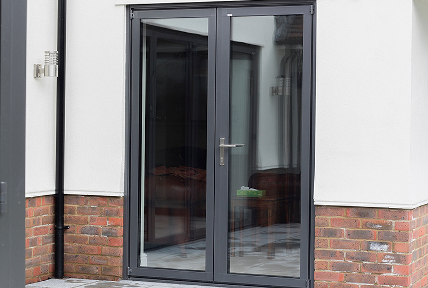 Solarlux-SL-60e-Bifolding-Door-and-Solarlux-French- & Kew Windows | Windows In South London | Richmond | French Doors
